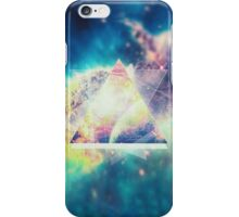 Awsome collosal deep space triangle art sign iPhone Case/Skin