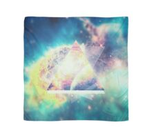 Awsome collosal deep space triangle art sign Scarf