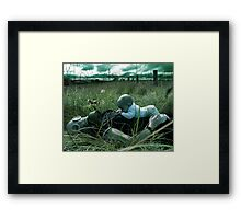 Silent Breath Framed Print
