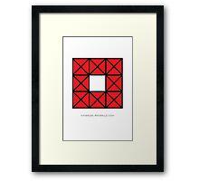 Design 54 Framed Print