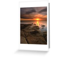 """""""And Then There Was Silence"""" ∞ Coles Bay, Tasmania - Australia Greeting Card"""