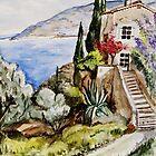 Èze Village by Stephanie Köhl