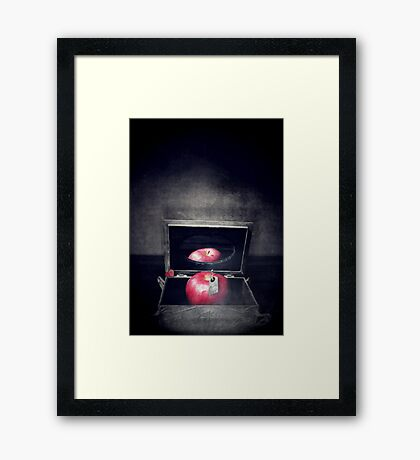 Poison Apple Framed Print