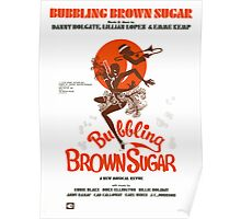 BUBBLING BROWN SUGAR (vintage illustration) Poster