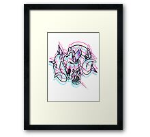 QUARTZ Framed Print