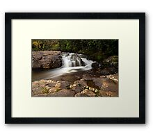 Kaiate ridge fall drift Framed Print