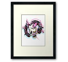 QUARTZ!PINK Framed Print