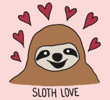 Sloth Love - Shirt One Piece - Short Sleeve