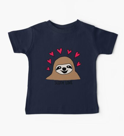 Sloth Love - Shirt Baby Tee