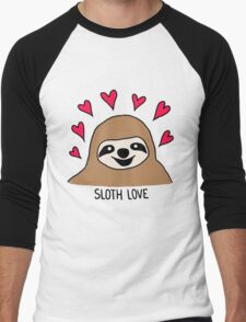 Sloth Love - Shirt Men's Baseball ¾ T-Shirt
