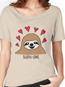 Sloth Love - Shirt Women's Relaxed Fit T-Shirt