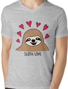 Sloth Love - Shirt Mens V-Neck T-Shirt
