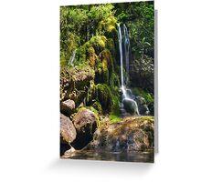 Petite Waterfall Greeting Card