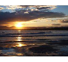 Salou Beach Sunset Photographic Print