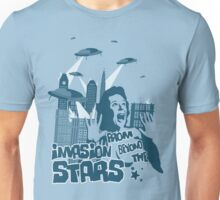 Invasion from beyond the stars Unisex T-Shirt