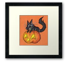 Trick and Treat Framed Print
