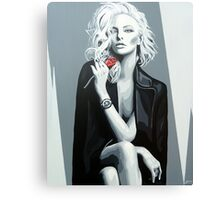 Thanks for the Rose Canvas Print