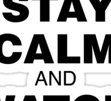 "Luxury Rap ""Stay Calm"" Sticker"