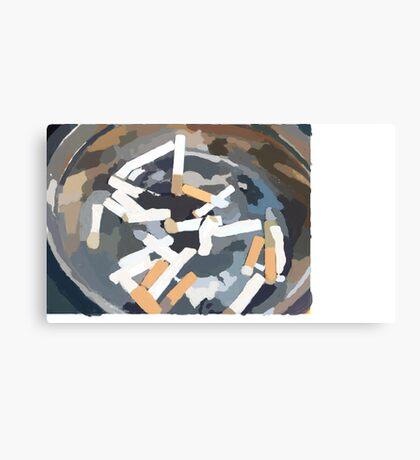 Ashtray Canvas Print