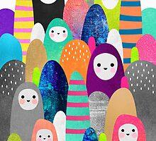 Pebble Spirits by Elisabeth Fredriksson