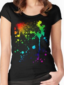 Pride Paint Women's Fitted Scoop T-Shirt