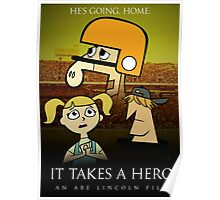 It Takes A Hero Poster