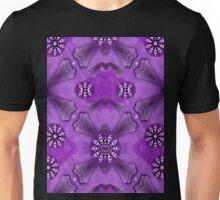 Bohemian purple vintage peace Unisex T-Shirt