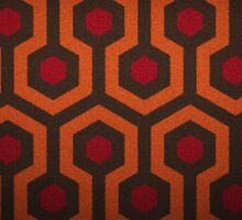 The Shining Carpet Pattern  Sticker