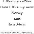 Nerd Coffee by Amy-Elyse Neer