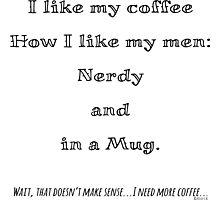 Nerd Coffee Photographic Print