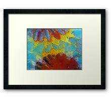 Floral Coral 2 Framed Print