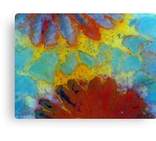 Floral Coral 2 Canvas Print