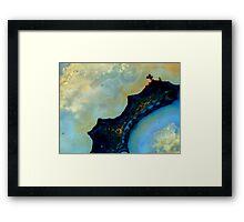 Sheep Creek Plume Agate Framed Print