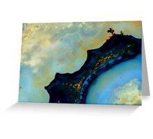 Sheep Creek Plume Agate Greeting Card