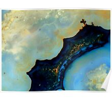 Sheep Creek Plume Agate Poster