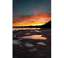 Reflection - Murchison River - Kalbarri Photographic Print