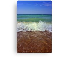 Sky Water and Earth Canvas Print