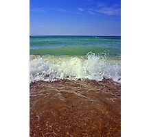 Sky Water and Earth Photographic Print