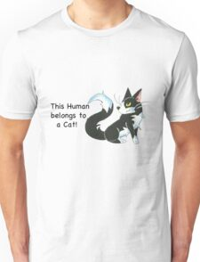 Cat Ownership (Tuxedo) Unisex T-Shirt
