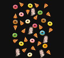 PIZZA & DONUTS Unisex T-Shirt
