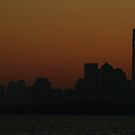 manhattan dawn; 4/26/2012 by Kevin Koepke