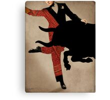 Dance Of Taurus Canvas Print
