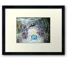 Birth of The 5d- Earth Framed Print
