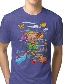 Growing Happy Kids Tri-blend T-Shirt
