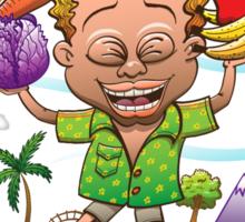 Growing Happy Kids Sticker