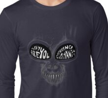 Donnie Darko: Questioning Frank's Bunny Suit Long Sleeve T-Shirt