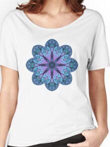 Fractal Mandala Women's Relaxed Fit T-Shirt