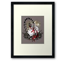 Hysteria in Rust Framed Print