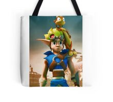 Jak and Daxter cover Tote Bag