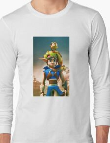 Jak and Daxter cover Long Sleeve T-Shirt